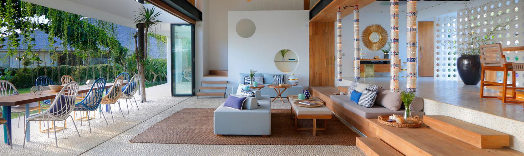 Villa Seascape - beachfront 8 bedroom private villa, Nusa